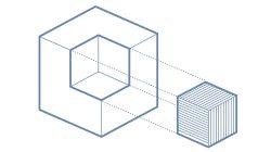 3D model icon Blue 2